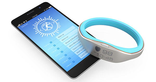 Smart wristband and smartphone