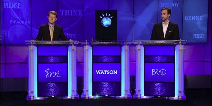 2011년 퀴즈쇼 Jeopardy! 에 출전한 Watson
