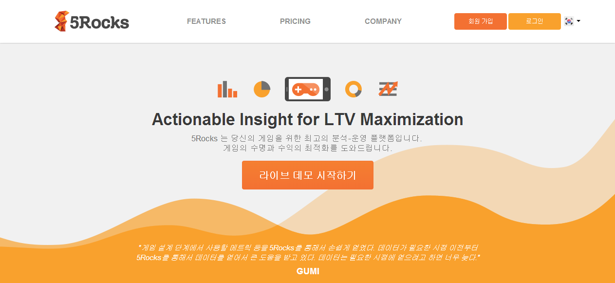 5Rocks   Actionable Insight for LTV Maximization