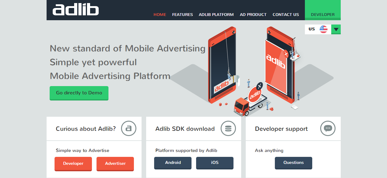 Adlib   New Standard of Mobile Advertising