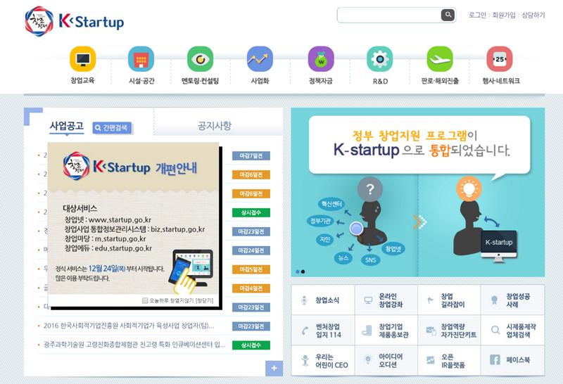k startup