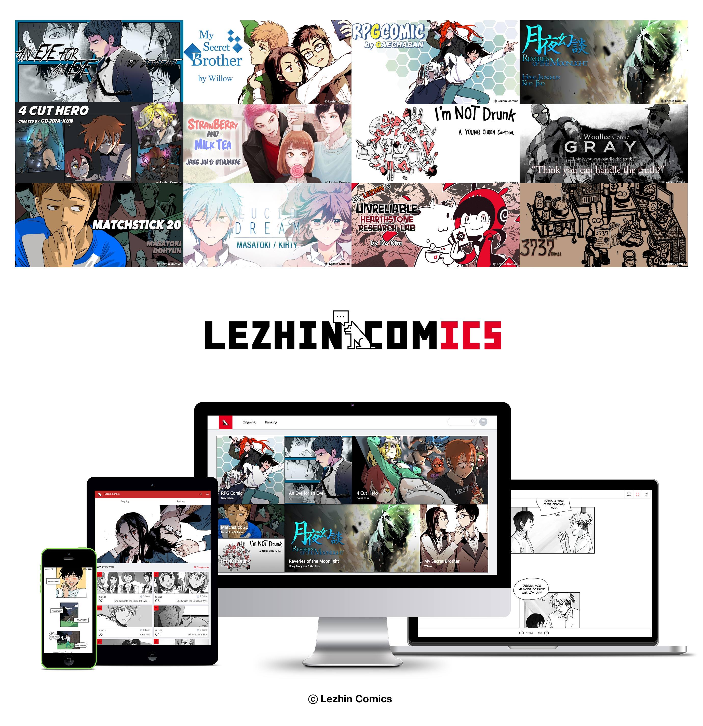 Lezhin Comics_ US