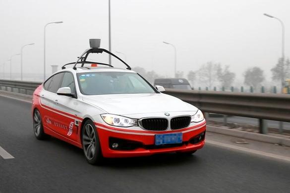 Baidu_autonomous_car