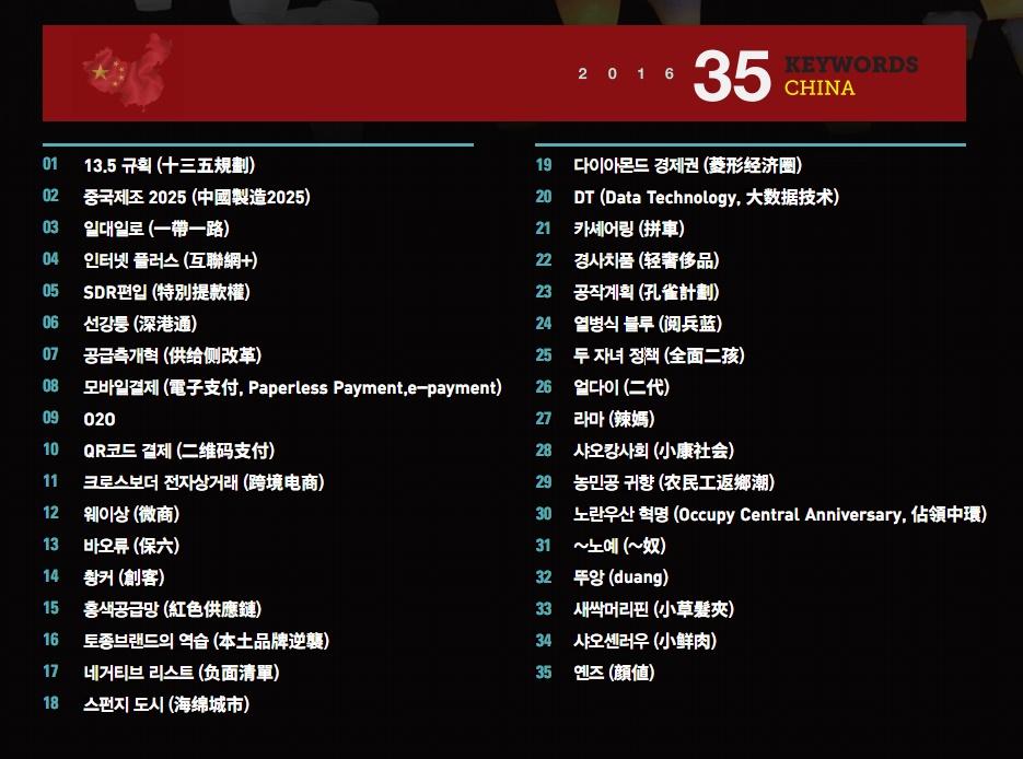 [정새롬의 차이나투데이 #9] 중국 경제를 이해하는 대표적 키워드 23선 - 'Startup's Story Platform'