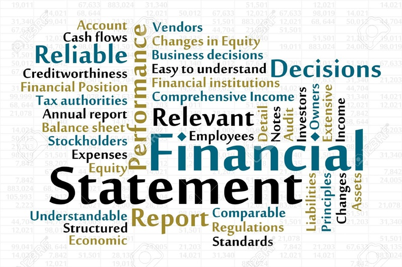 17343527-financial-statement-word-cloud-with-data-sheet-background-stock-vector