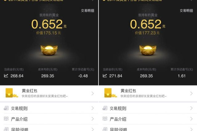 텐센트 '황금 홍바오'... 새로운 金거래 시장을 열다
