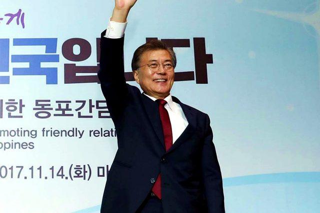 '한·중 경제·무역 파트너십' 개최...문 대통령·엑소·송혜교 한자리