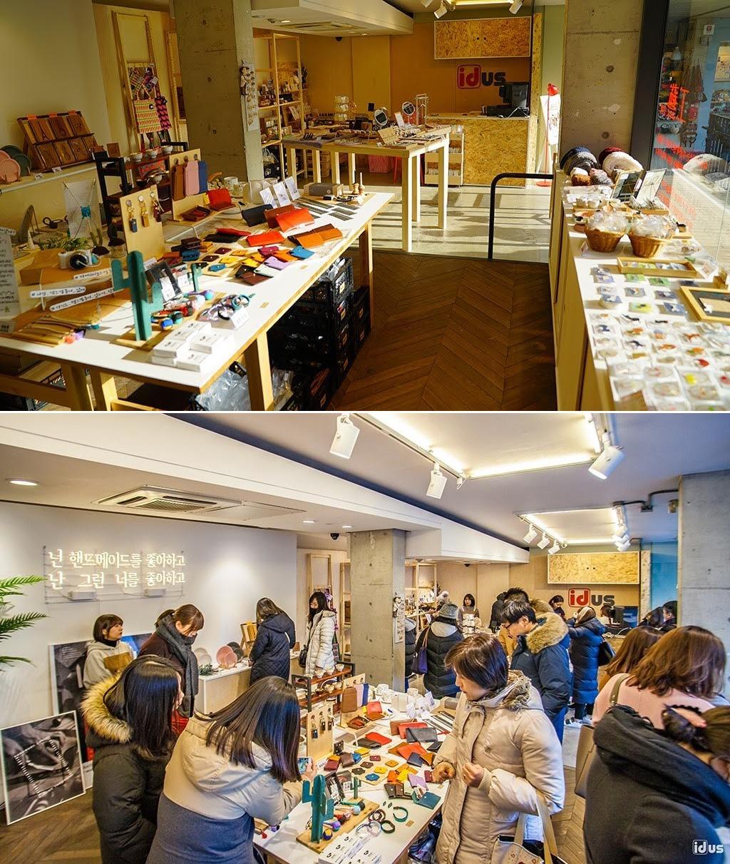 '아이디어스', 쌈지길에 수공예품 전문 오프라인 스토어 오픈