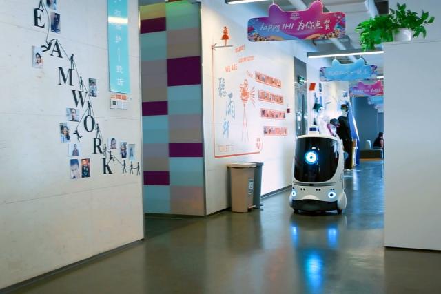 '라스트 마일'을 잡아라, 중국 배송 로봇 현황