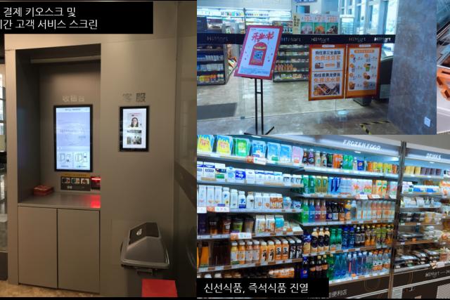 중국 편의점 업계의 떠오르는 강자 '셴셩훠'와 '티몰 미래상점 플러스'