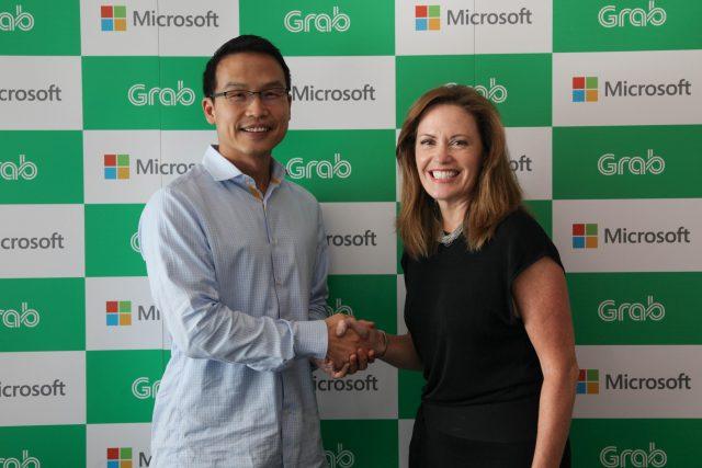그랩(Grab), 마이크로소프트로부터 전략적 투자 유치