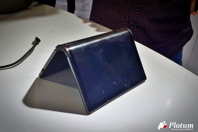 [선전 하이테크 페어] 중국 스타트업이 내놓은 세계 최초의 폴더블 스마트폰 '플렉스파이'