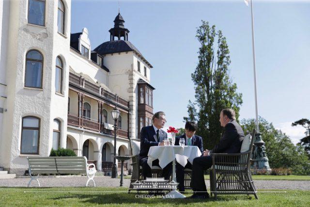 문 대통령, 스웨덴서 소셜벤처를 통한 포용적 성장 강조