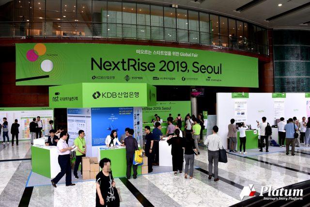 [현장] 글로벌 스타트업 페어 '넥스트라이즈 2019, 서울'