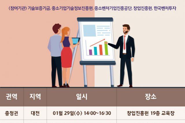 중소벤처기업부 산하 5개 기관 창업지원 합동 설명회 개최-