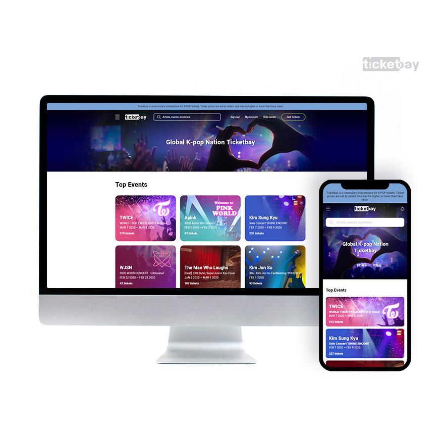 티켓베이, 글로벌 2차 티켓 시장에서 경쟁력 확보로 수익모델 다각화 - 'Startup's Story Platform'