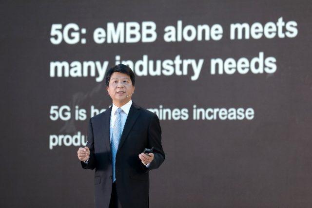 """화웨이 궈 핑 순환 회장 """"5G가 팬데믹 이후 디지털 전환 촉발할 것"""""""